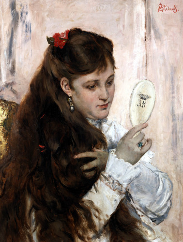 La Toilette by Alfred Emile Stevens