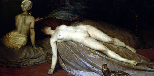 Odalisque by Constantin Font