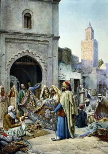 The Rug Merchant by Frederico Bartolini