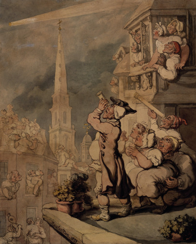 The Comet by Thomas Rowlandson