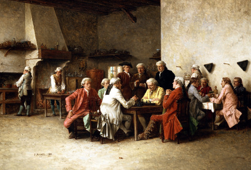 A Game Of Chess by Benjamin Eugene Fichel