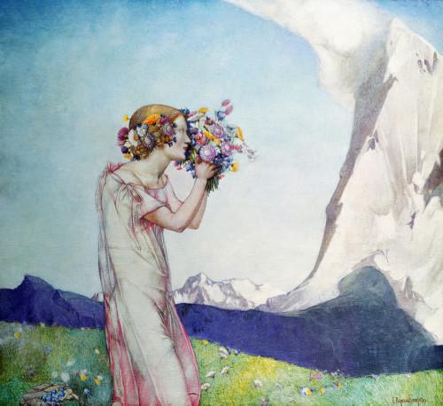 Flora Alpina by Edward Reginald Frampton