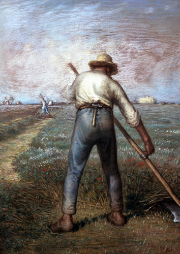 The Reaper by Jean Francois Millet