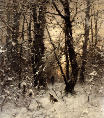 Winter Twilight by Ludvig Munthe