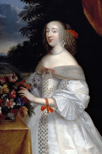 Portrait Of Anne Marie Louise, Duchesse D'Orleans by Charles Beaubrun