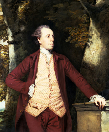 Portrait Of Richard Crofts Of West Harling, Norfolk by Sir Joshua Reynolds