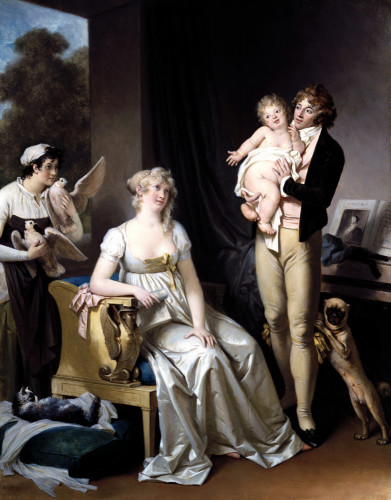 The Contented Family by Marguerite Gerard