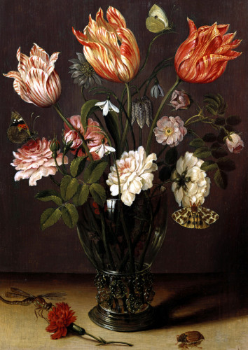 Tulips With Other Flowers by Jan Bruegel The Younger