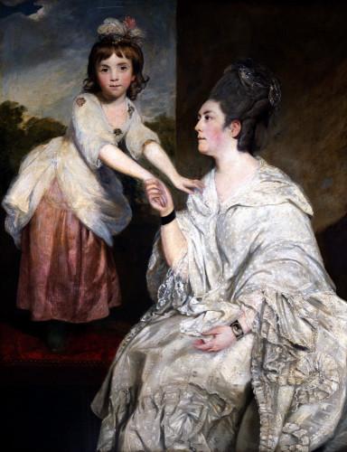 Portrait Of Mrs Sarah Otway by Sir Joshua Reynolds