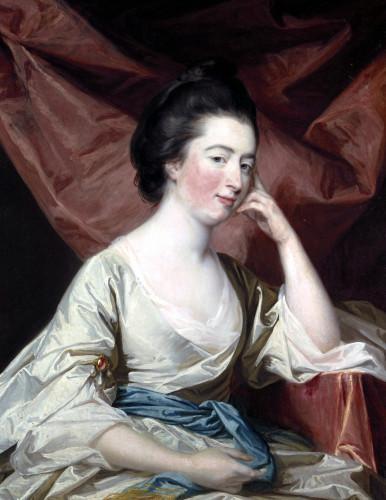 Portrait Of A Lady by Francis Cotes