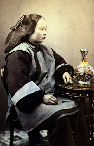 Photograph Of A Young Chinese Woman by Christie's Images