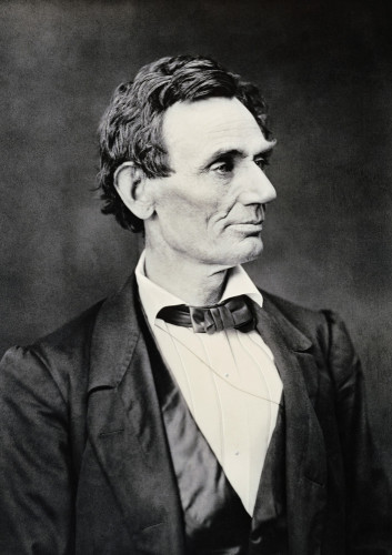 Abraham Lincoln, Circa 1860 by Christie's Images