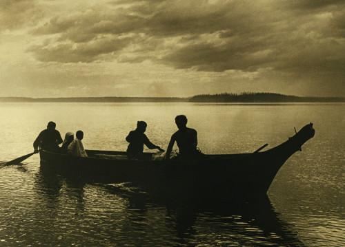 Homeward by Edward S. Curtis