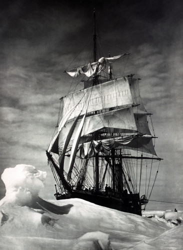 Terra Nova Icebound, British Antarctic Expedition by Christie's Images