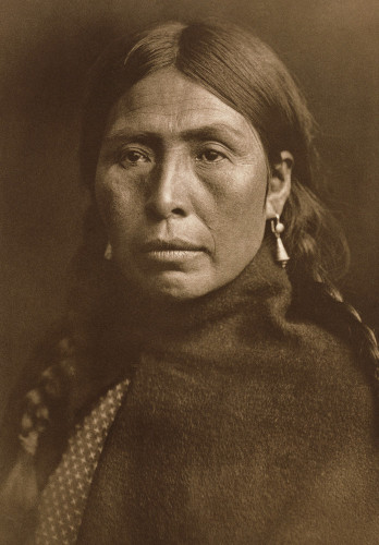 Lummi Type by Edward S. Curtis