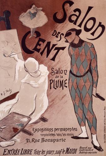 Salon Des Cents by Henri Gabriel Ibels
