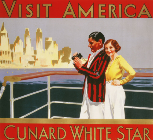 Visit America Cunard White Star by Christies Images
