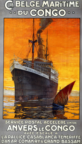 Cie Belge Maritime Du Congo by L. Noroy