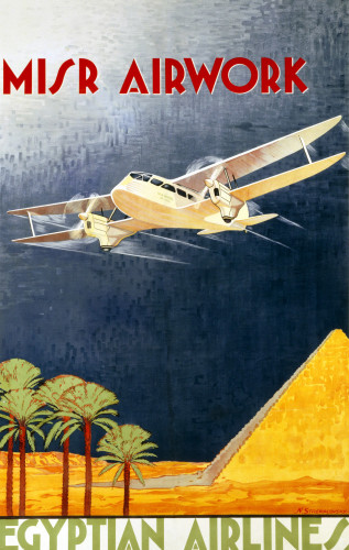 Misr Airwork Egyptian Airlines by N. Strekalovsky
