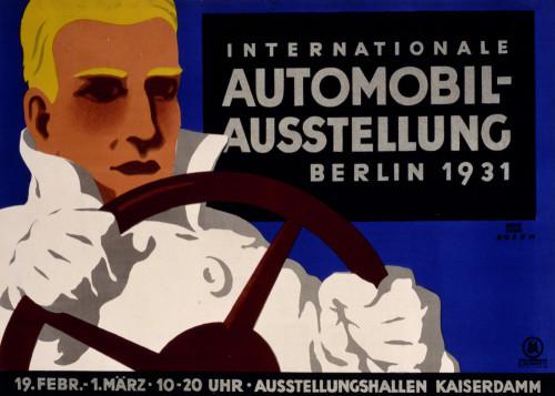 Internationale AutomobilAustellung Berlin 1931 by Bernhard Rosen