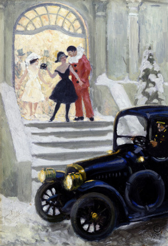 After The Ball by Paul Gustav Fischer