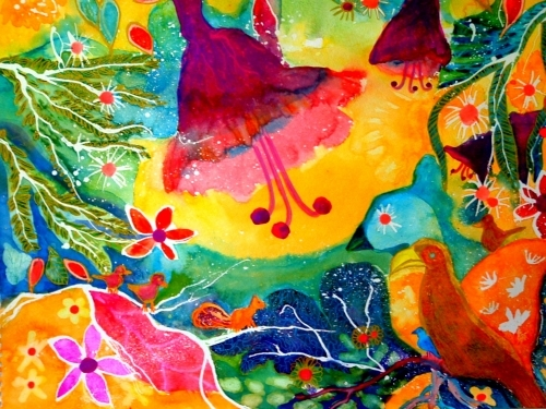 Birds by Luisa Gaye Ayre