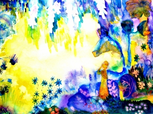 Magical Garden by Luisa Gaye Ayre