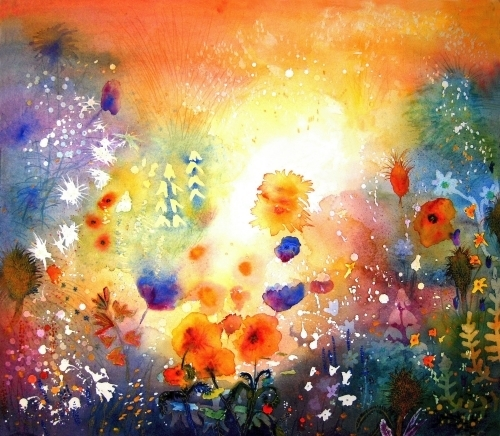 Summer Garden by Luisa Gaye Ayre