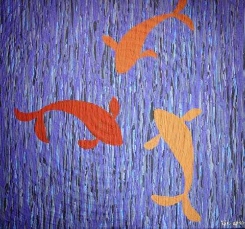 Goldfish by Tamaporn Pratoompong