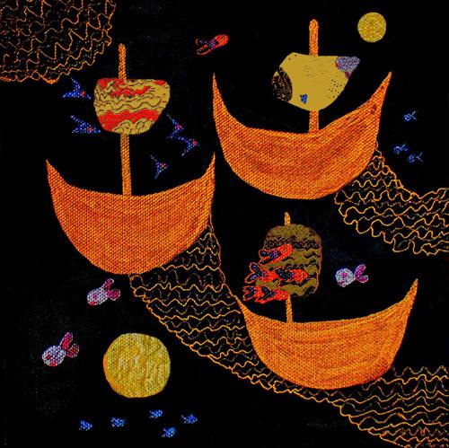 I Saw Three Ships by Luisa Gaye Ayre
