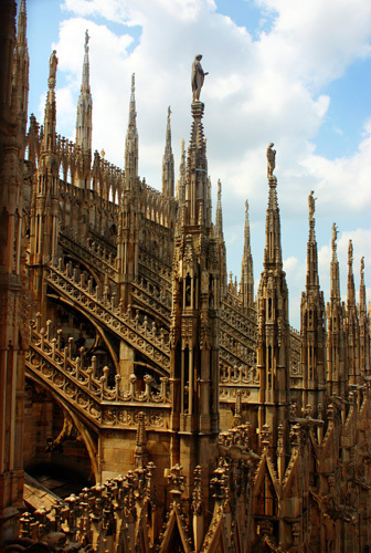 Milan Cathedral by Wayne Williams