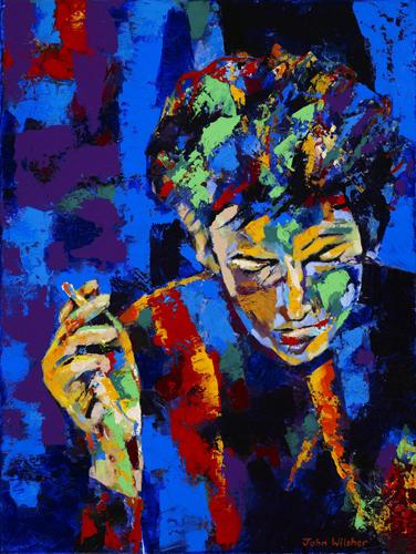 Bob Dylan by John Wilsher