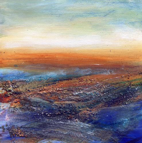 Scottish Coast I by Lesley Birch