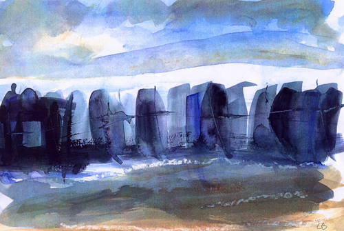Passing Ships by Lesley Birch