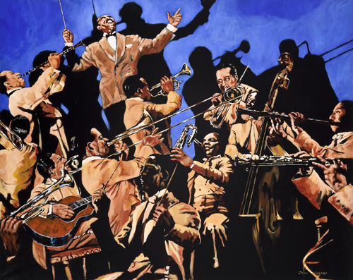 Duke Ellington and his band by John Wilsher