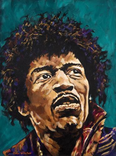 Jimi Hendrix by John Wilsher