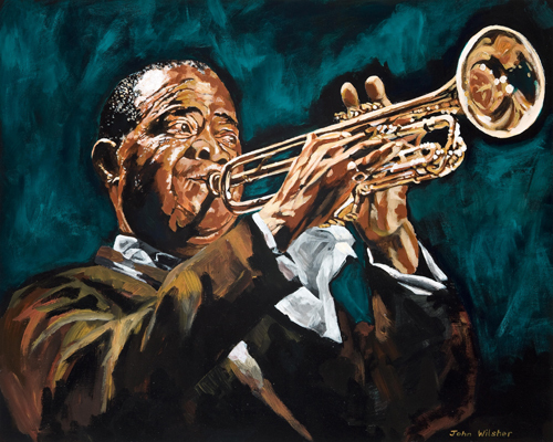 Louis Armstrong by John Wilsher