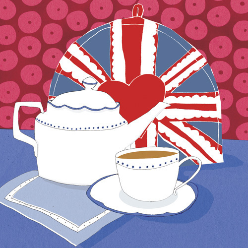 British Cuppa by Louise Cunningham