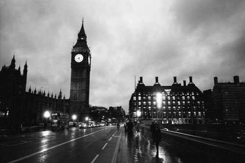 Big Ben at Night by Christopher Holt