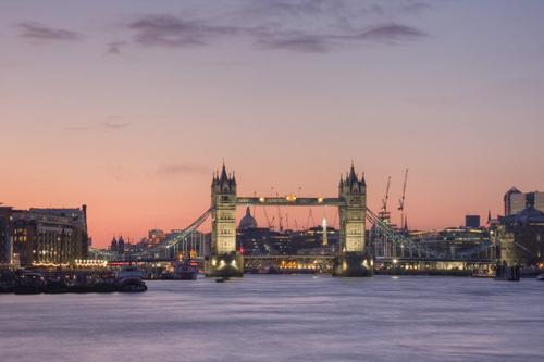 Tower Bridge - London by Christopher Holt