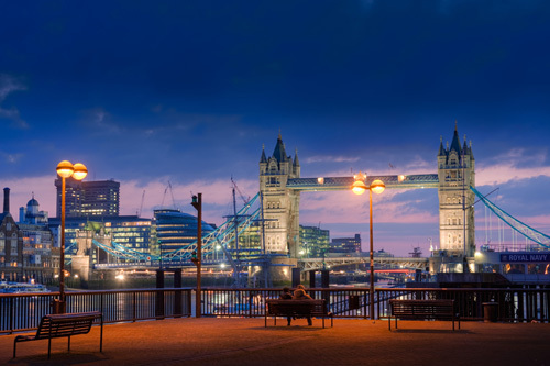 Tower Bridge by Christopher Holt
