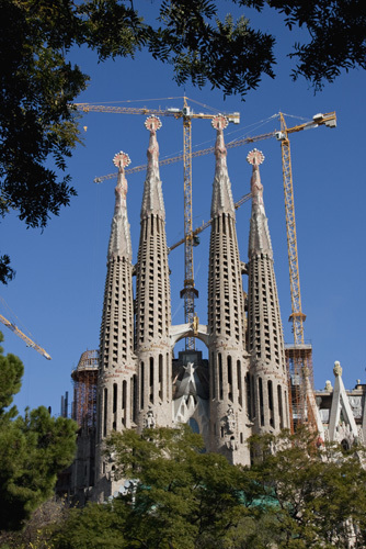 Sagrada Familia by Christopher Holt