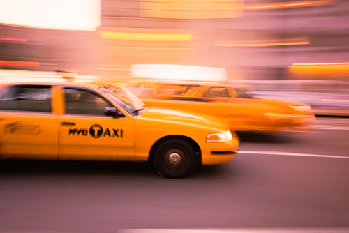 New York Taxi by Christopher Holt