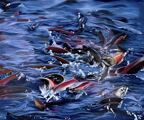 Spawning by James Knowles