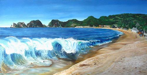Playa Melaque by James Knowles