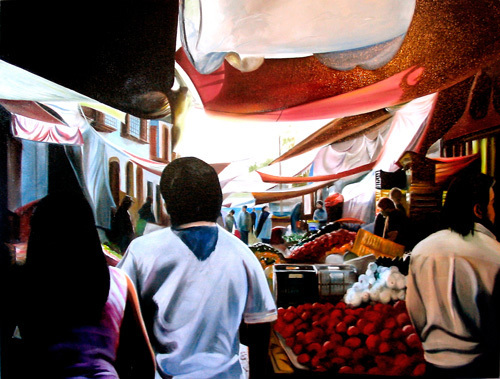 El Mercado de Patzcuaro by James Knowles