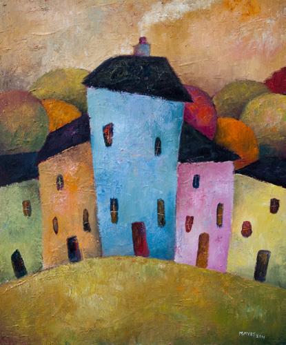 Urban Colours by Jeremy Mayes