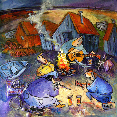 Fisherman's Blues by Brian Petrie