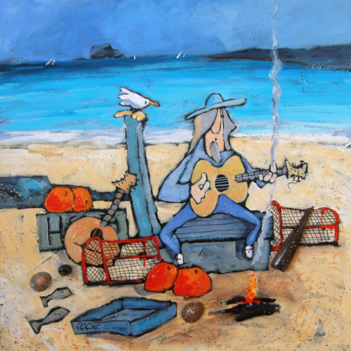 The Bass Rock Blues by Brian Petrie