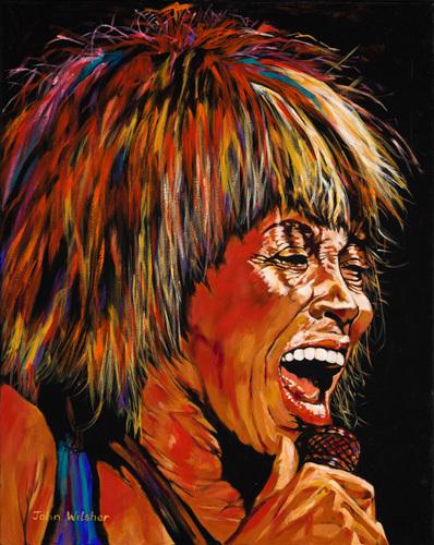 Tina Turner by John Wilsher